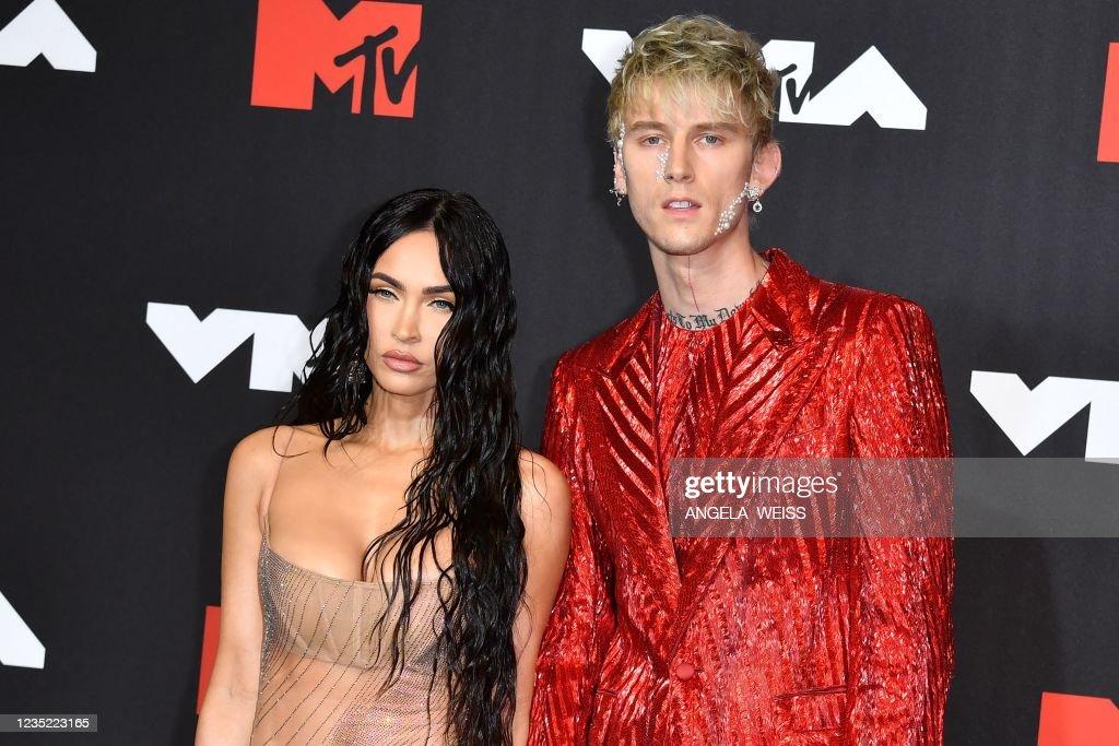 US-ENTERTAINMENT-MUSIC-MTV-AWARD : News Photo