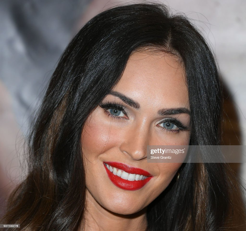 actress megan fox appears at forever 21 to promote her new role as