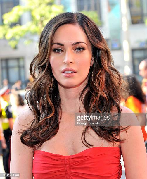 Actress Megan Fox arrives at 'Friends With Kids' Premiere at Ryerson Theatre during the 2011 Toronto International Film Festival on September 9 2011...