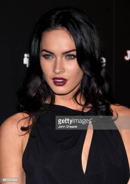 Actress Megan Fox arrives at MySpace/IGN Jennifer�s Body Party during ComicCon 2009 held at Manchester Grand Hyatt on July 23 2009 in San Diego...