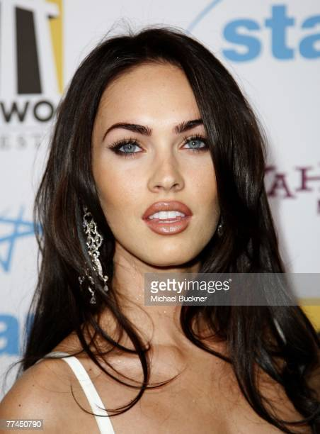 Actress Megan Fox arrives at the 11th Annual Hollywood Awards held at the Beverly Hilton Hotel on October 22 2007 in Los Angeles California