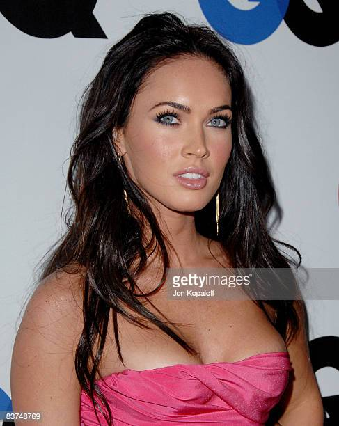 Actress Megan Fox arrives at the 13th Annual GQ 'Men of the Year' Party at the Chateau Marmont on November 18 2008 in Los Angeles California