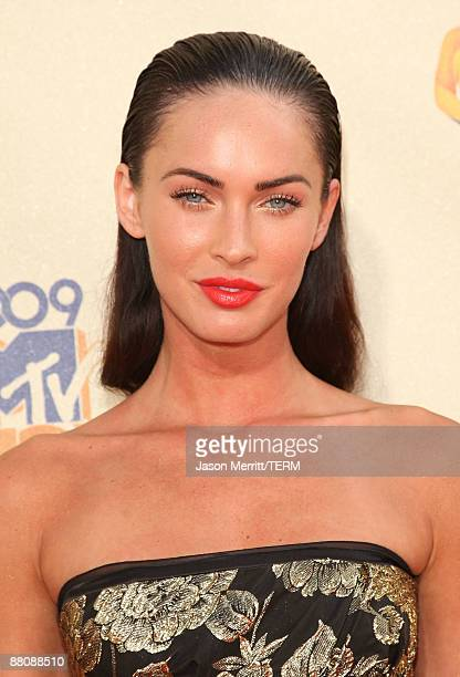 Actress Megan Fox arrives at the 18th Annual MTV Movie Awards held at the Gibson Amphitheatre on May 31, 2009 in Universal City, California.
