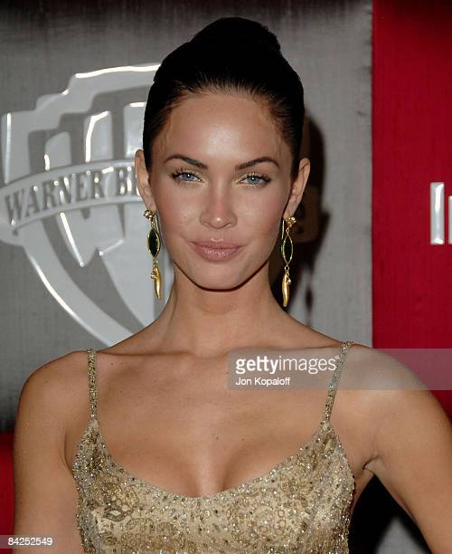 Actress Megan Fox arrives at the 66th Annual Golden Globe Awards InStyle Warner Bros Official After Party at the Oasis Court at The Beverly Hilton...
