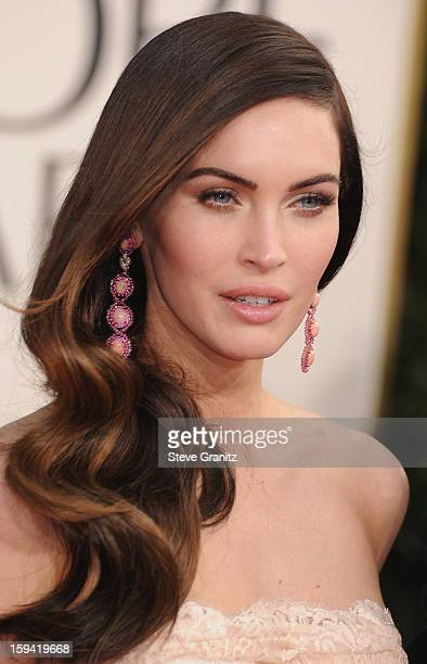 d496a36c4 Actress Megan Fox arrives at the 70th Annual Golden Globe Awards held at  The Beverly Hilton