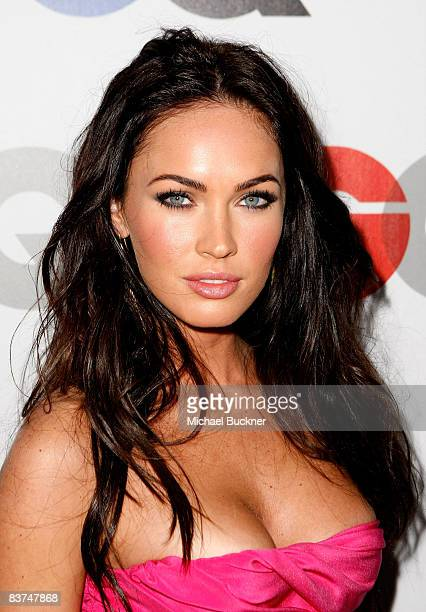Actress Megan Fox arrives at the GQ Men of the Year party held at the Chateau Marmont Hotel on November 18 2008 in Los Angeles California