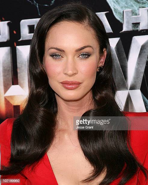 Actress Megan Fox arrives at the 'Jonah Hex' Los Angeles Premiere held at ArcLight Cinemas Cinerama Dome on June 17 2010 in Hollywood California