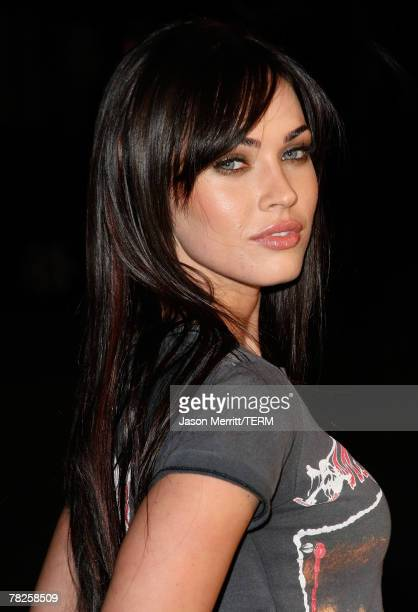 Actress Megan Fox arrives to the premiere of Fox Searchlight's 'Juno' at the Vilage Theater in Westwood California on December 3 2007