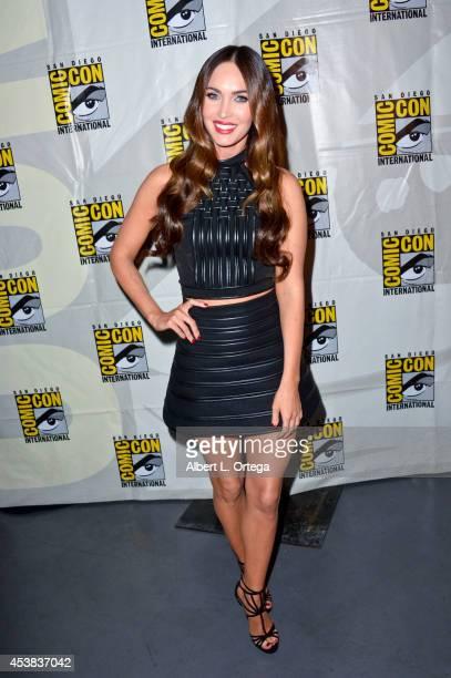 Actress Megan Fox at the 'Teenage Mutant Ninja Turtles' panel for the Paramount Studios Presentation on Day 1 of ComicCon International 2014 held at...