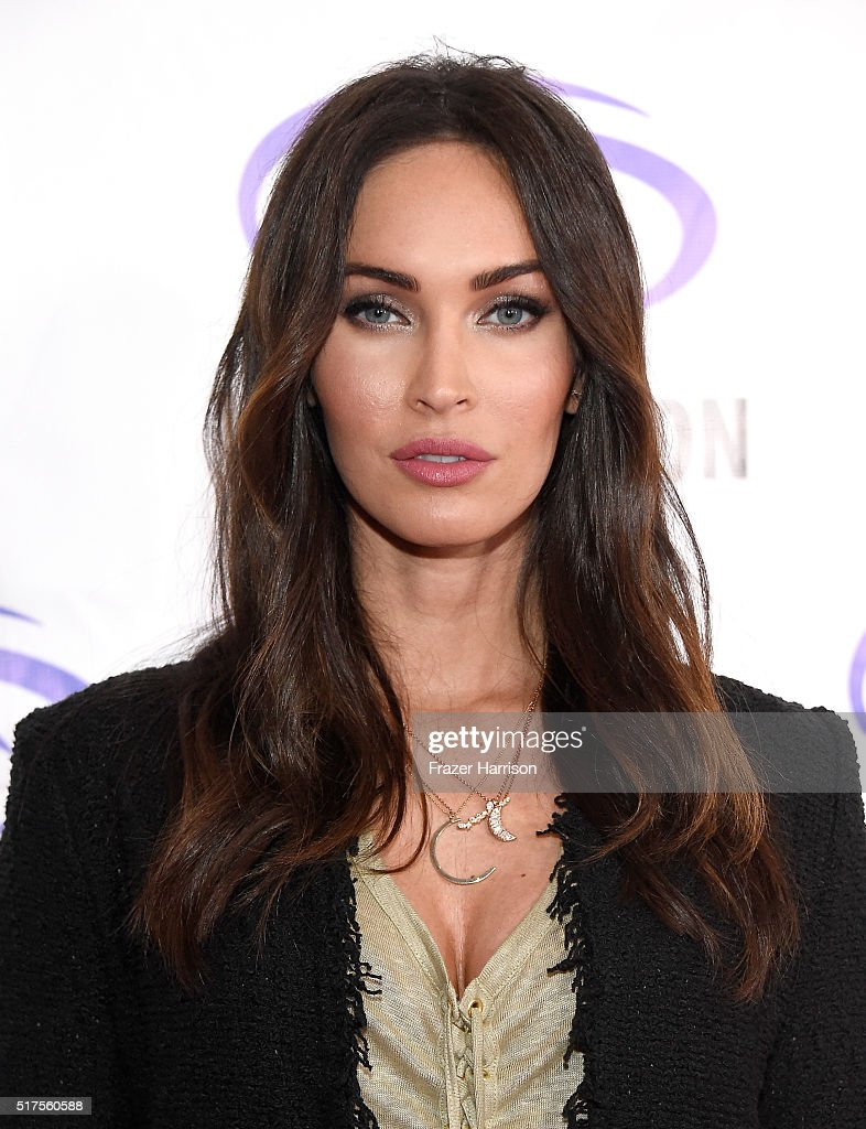 "Actress Megan Fox attends a panel at WonderCon 2016 to promote the upcoming release of Paramount Pictures' ""Teenage Mutant Ninja Turtles – Out of The Shadows"", on March 25, 2016 at the LA Convention Center in Los Angeles, California."