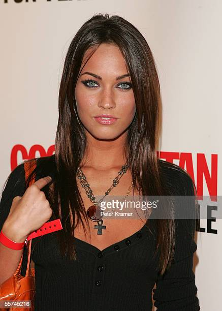 Actress Megan Fox attends Cosmopolitan magazine's 40th birthday party celebration on September 22 2005 in New York City