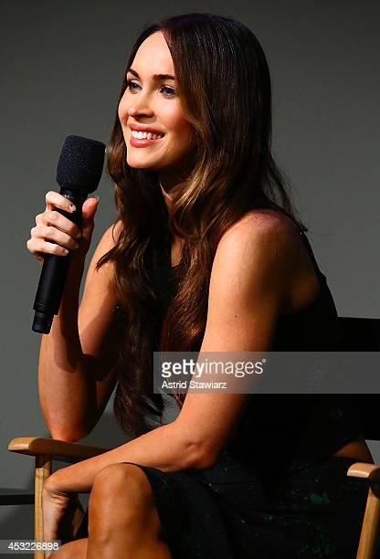 Actress Megan Fox attends 'Meet The Actor 'Teenage Mutant Ninja Turtles' at Apple Store Soho on August 5 2014 in New York City
