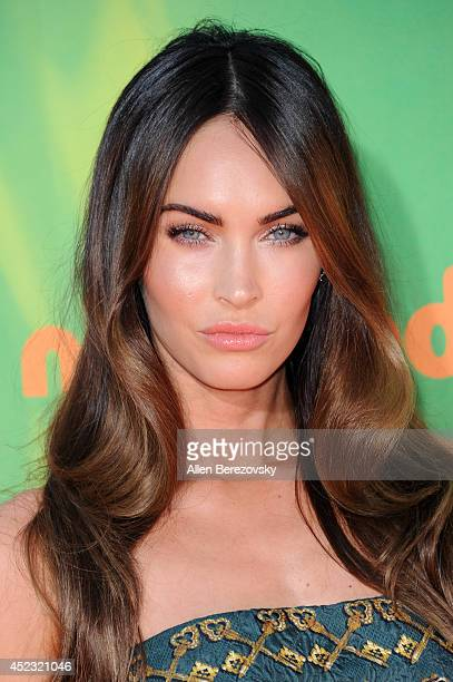 Actress Megan Fox attends Nickelodeon Kids' Choice Sports Awards 2014 at Pauley Pavilion on July 17 2014 in Los Angeles California
