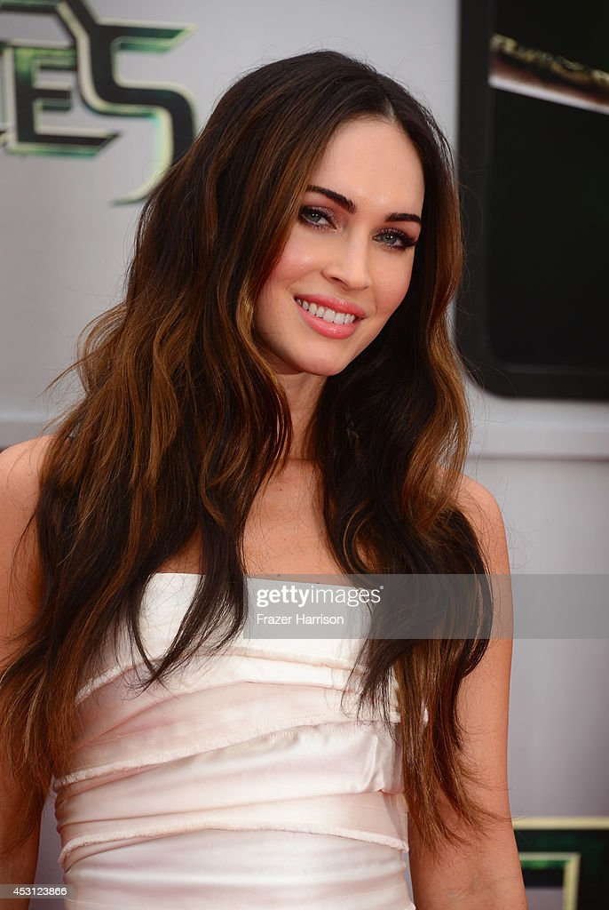 Actress Megan Fox attends Paramount Pictures' 'Teenage Mutant Ninja Turtles' premiere at Regency Village Theatre on August 3, 2014 in Westwood, California.