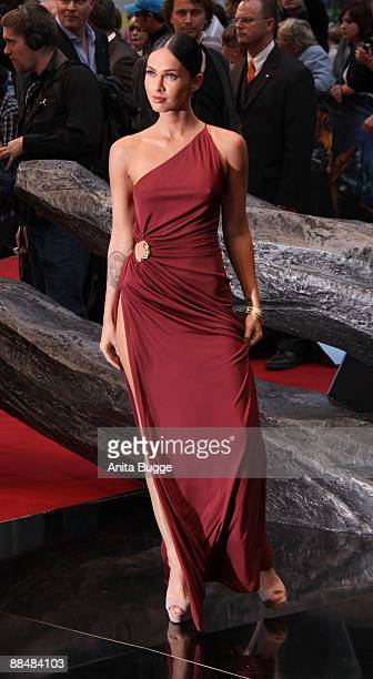 Actress Megan Fox attends the German premiere of 'Transformers Revenge Of The Fallen' at the Sony Center CineStar on June 14 2009 in Berlin Germany