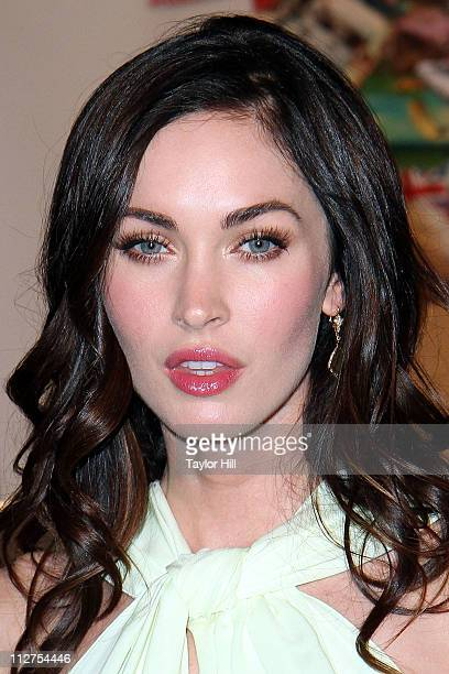 Actress Megan Fox attends the Jaguar EType 50th anniversary celebration at The IAC Building on April 20 2011 in New York City