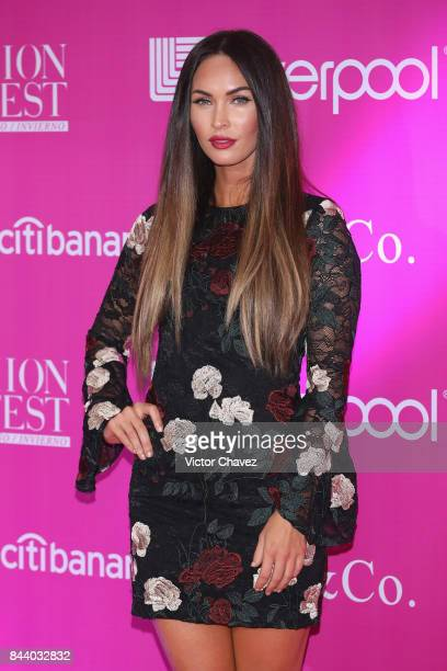 Actress Megan Fox attends the Liverpool Fashion Fest Autumn/Winter at Fronton Mexico on September 7 2017 in Mexico City Mexico