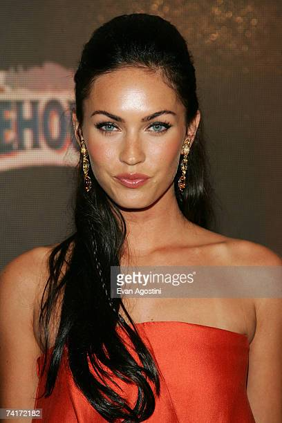Actress Megan Fox attends the Maxim Hot 100 Party at the Gansevoort Hotel on May 16 2007 in New York City