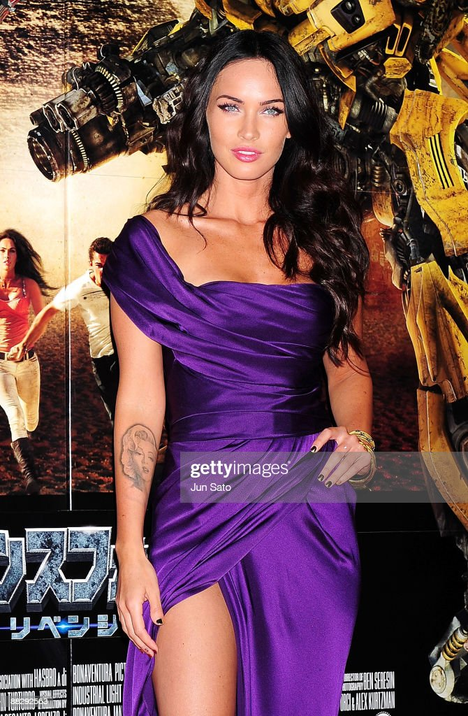 Actress Megan Fox attends the 'Transformers: Revenge of the Fallen' World Premiere at Roppongi Hills on June 8, 2009 in Tokyo, Japan. The film will open on June 19 in Japan.