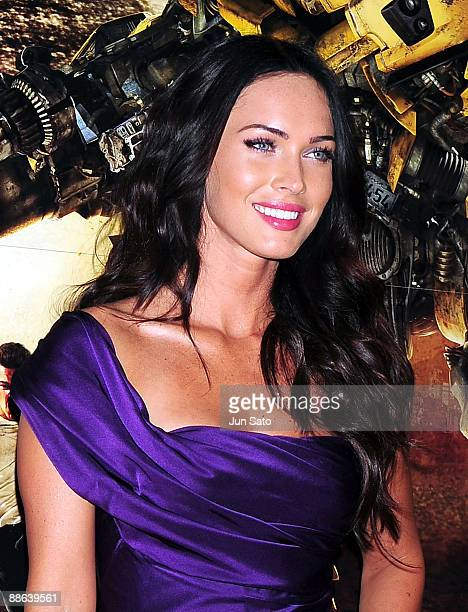 "Actress Megan Fox attends the ""Transformers: Revenge of the Fallen"" World Premiere at Roppongi Hills on June 8, 2009 in Tokyo, Japan. The film will..."