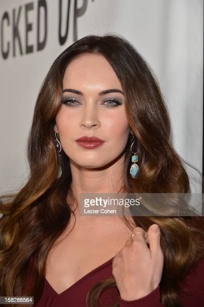 Actress Megan Fox attends 'This Is 40' Los Angeles Premiere Red Carpet at Grauman's Chinese Theatre on December 12 2012 in Hollywood California