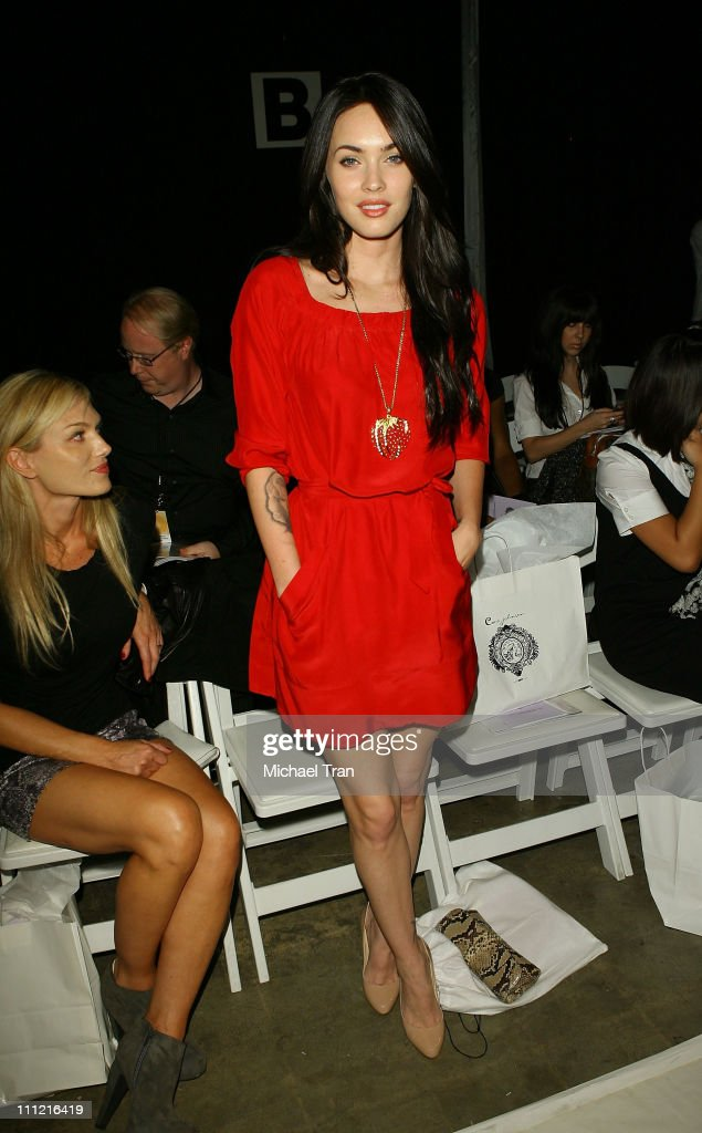 MBFW At Smashbox -Coco Johnsen - Backstage and Front Row : News Photo
