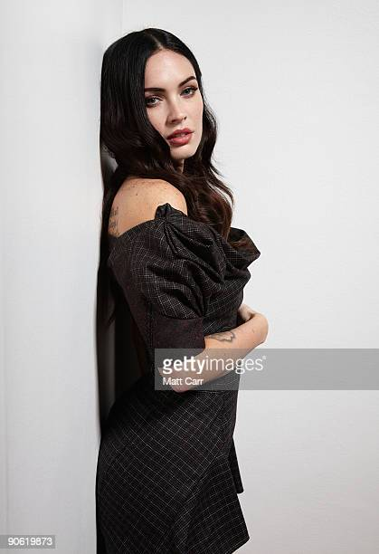 "Actress Megan Fox from the film ""Jennifer's Body"" poses for a portrait during the 2009 Toronto International Film Festival at The Sutton Place Hotel..."