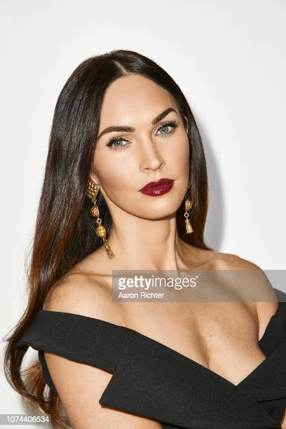 Actress Megan Fox Is Photographed For New York Times On November 27 2018 In New York
