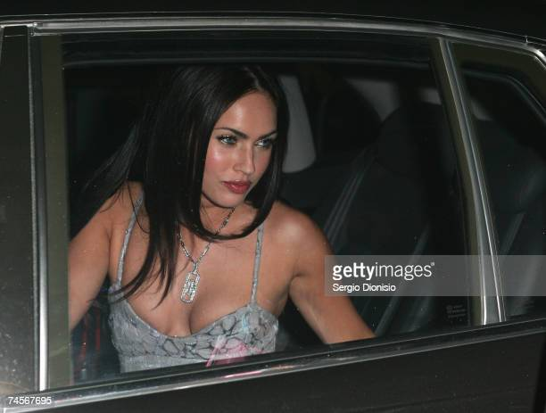 Actress Megan Fox of the US arrives at the special event celebrity screening of the new film Transformers at Hoyts Entertainment Quarter Moore Park...