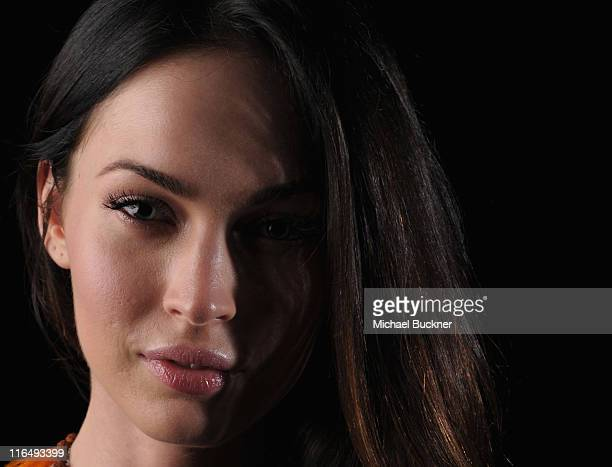 Actress Megan Fox poses for a portrait at the 2011 Maui Film Festival at the Celestial Cinema on June 15 2011 in Wailea Hawaii