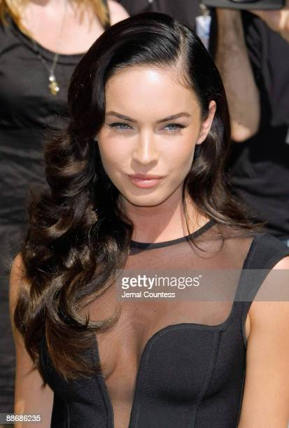 Actress Megan Fox visits the 'Late Show With David Letterman' at the Ed Sullivan Theater on June 25 2009 in New York City