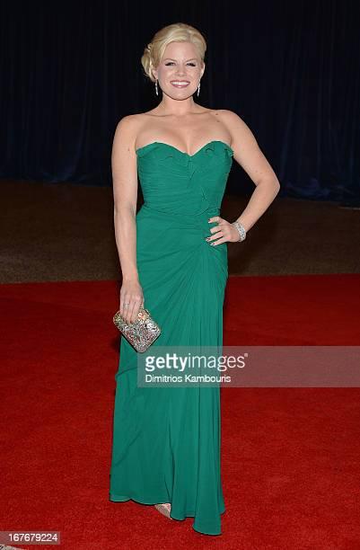 Actress Megan Hilt attends the White House Correspondents' Association Dinner at the Washington Hilton on April 27 2013 in Washington DC