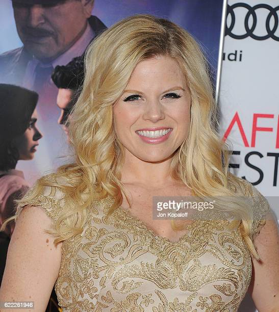 Actress Megan Hilty arrives at AFI FEST 2016 Presented By Audi Opening Night Premiere Of 20th Century Fox's 'Rules Don't Apply' at TCL Chinese...