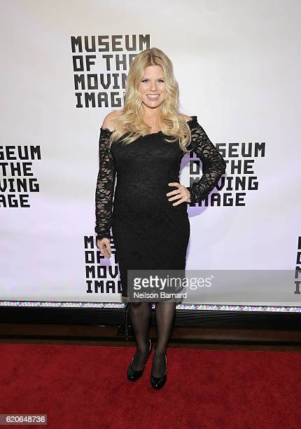 Actress Megan Hilty attends Museum Of The Moving Image 30th Annual Salute honoring Warren Beatty at 583 Park Avenue on November 2 2016 in New York...