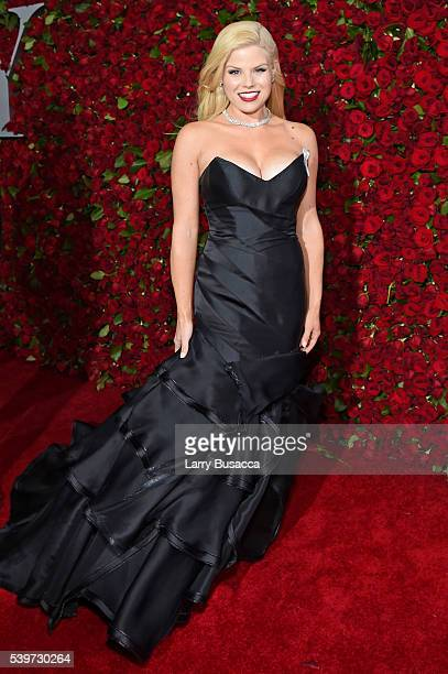 Actress Megan Hilty attends the 70th Annual Tony Awards at The Beacon Theatre on June 12 2016 in New York City