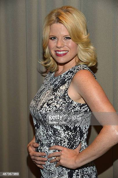 Actress Megan Hilty attends The Moms Present Legends Of Oz Dorothy's Return at Park Avenue Screening Room on April 29 2014 in New York City
