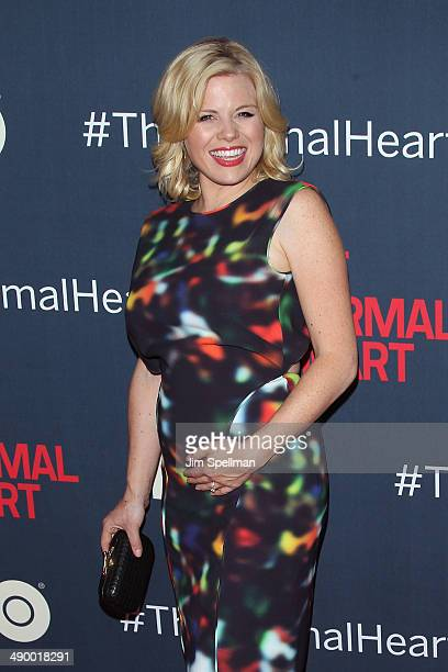 Actress Megan Hilty attends 'The Normal Heart' New York Screening at Ziegfeld Theater on May 12 2014 in New York City