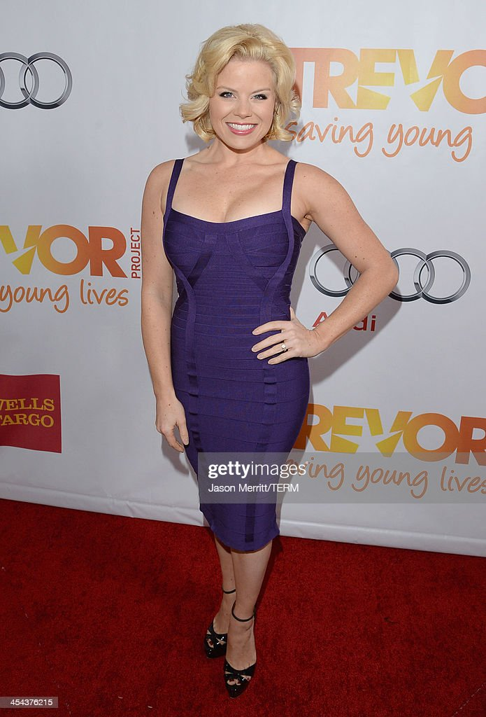 Actress Megan Hilty attends 'TrevorLIVE LA' honoring Jane Lynch and Toyota for the Trevor Project at Hollywood Palladium on December 8, 2013 in Hollywood, California.