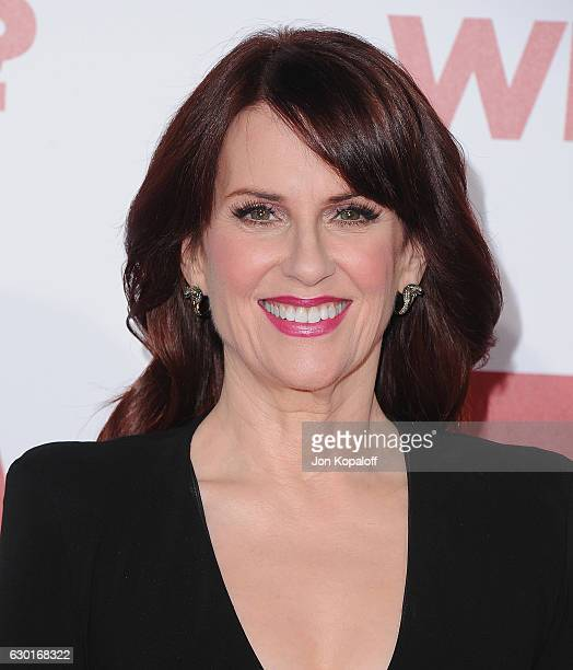 Actress Megan Mullally arrives at the Los Angeles Premiere Why Him at Regency Bruin Theater on December 17 2016 in Westwood California