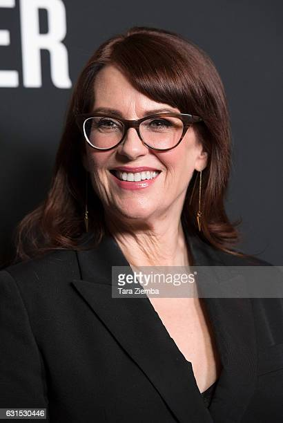 Actress Megan Mullally arrives to the premiere of The Weinstein Company's 'The Founder' at ArcLight Cinemas Cinerama Dome on January 11 2017 in...