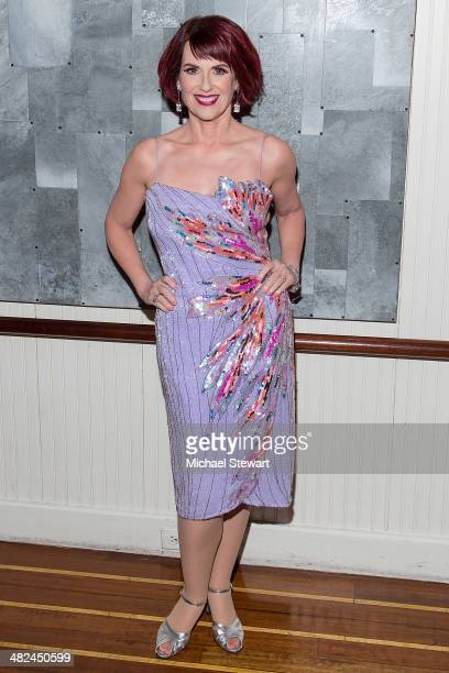 Actress Megan Mullally attends 'Guys And Dolls' after party at Remi on April 3 2014 in New York City