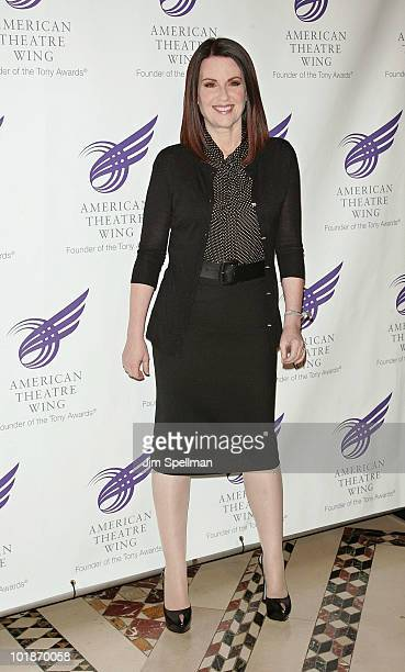 Actress Megan Mullally attends the 2010 American Theatre Wing Spring Gala at Cipriani 42nd Street on June 7 2010 in New York City