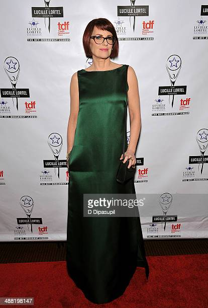 Actress Megan Mullally attends the 29th Annual Lucille Lortel Awards at NYU Skirball Center on May 4 2014 in New York City