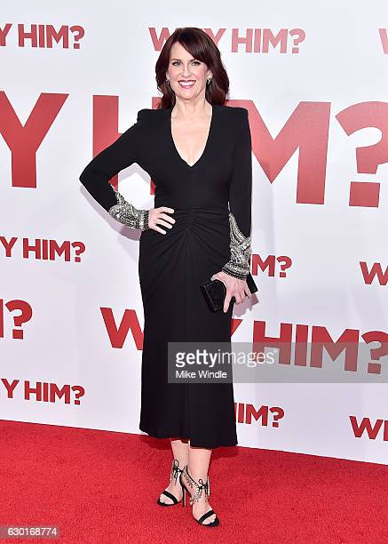 Actress Megan Mullally attends the premiere of 20th Century Fox's Why Him at Regency Bruin Theater on December 17 2016 in Westwood California