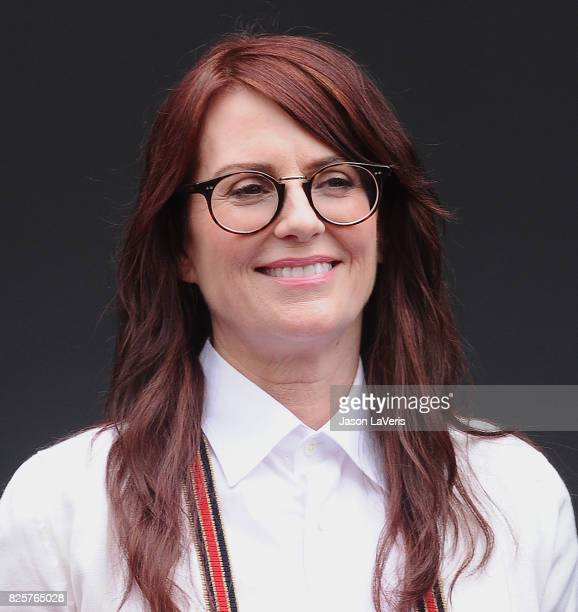 Actress Megan Mullally attends the 'Will Grace' start of production kick off event and ribbon cutting ceremony at Universal City Plaza on August 2...