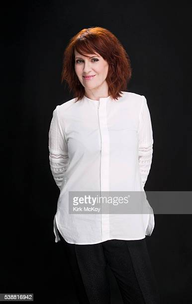 Actress Megan Mullally is photographed for Los Angeles Times on April 29 2016 in Los Angeles California PUBLISHED IMAGE CREDIT MUST READ Kirk...