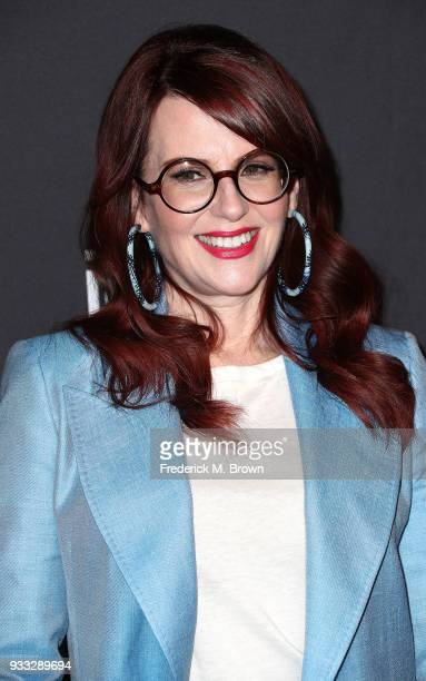 """Actress Megan Mullally of the television show """"Will & Grace"""" attends The Paley Center for Media's 35th Annual PaleyFest Los Angeles at the Dolby..."""