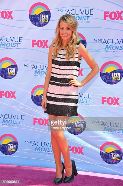 Actress Megan Park arrives at the 2012 Teen Choice Awards held at the Gibson Amphitheatre in Universal City California