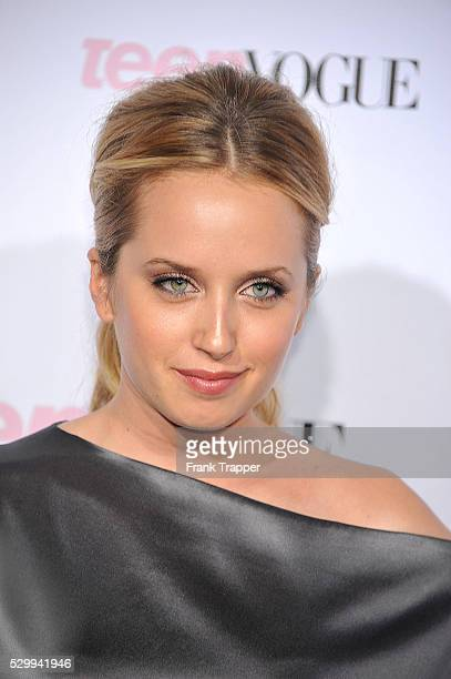 Actress Megan Park arrives at The 8th Annual Teen Vogue Young Hollywood Party held at Paramount Studios in Hollywood