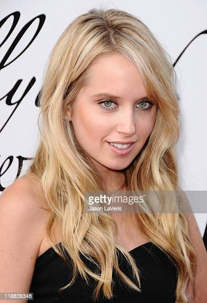 Actress Megan Park attends Hollywood Life's 11th annual Young Hollywood Awards at The Eli and Edythe Broad Stage on June 7 2009 in Santa Monica...